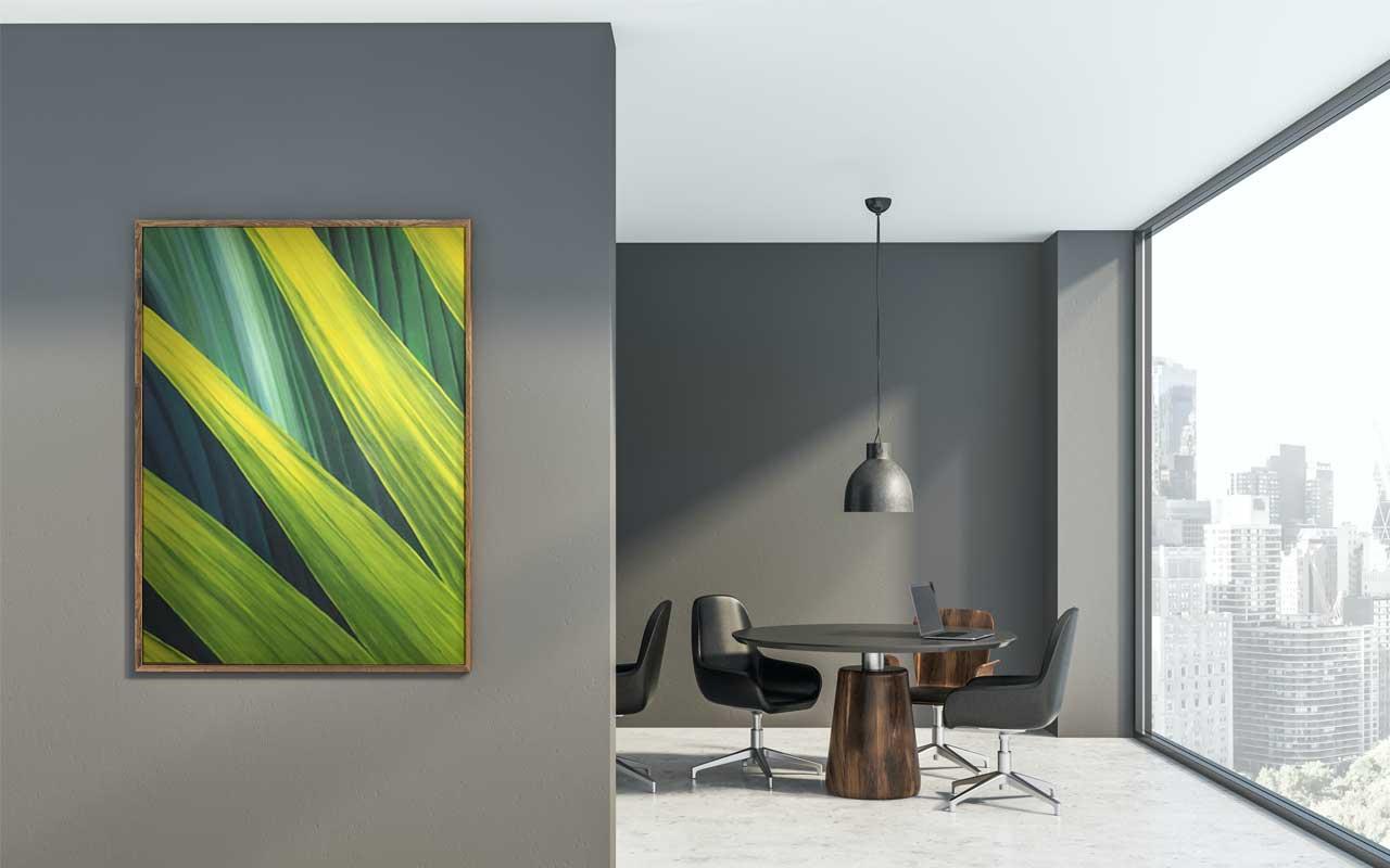Sharp Edges - painting in situ